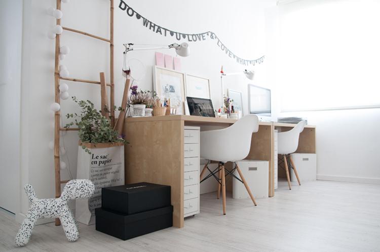 Los mejores espacios de trabajo en casa muebles passe avant - Decorar despacho profesional ...