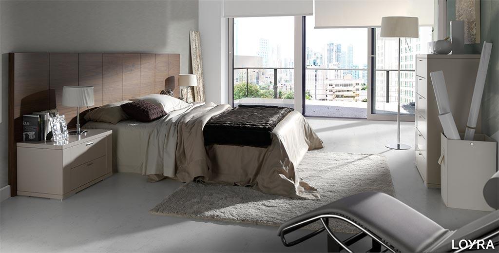 Dormitorio contemporaneo 09 loyra zoe muebles passe avant - Dormitorios contemporaneos ...