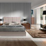 Dormitorio tapizado Zoe