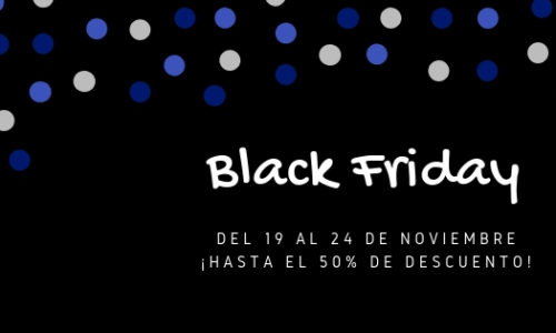 ¡Hasta el 50% de descuento! – BlackFriday