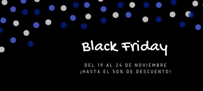 ¡Hasta el 50% de descuento! - BlackFriday