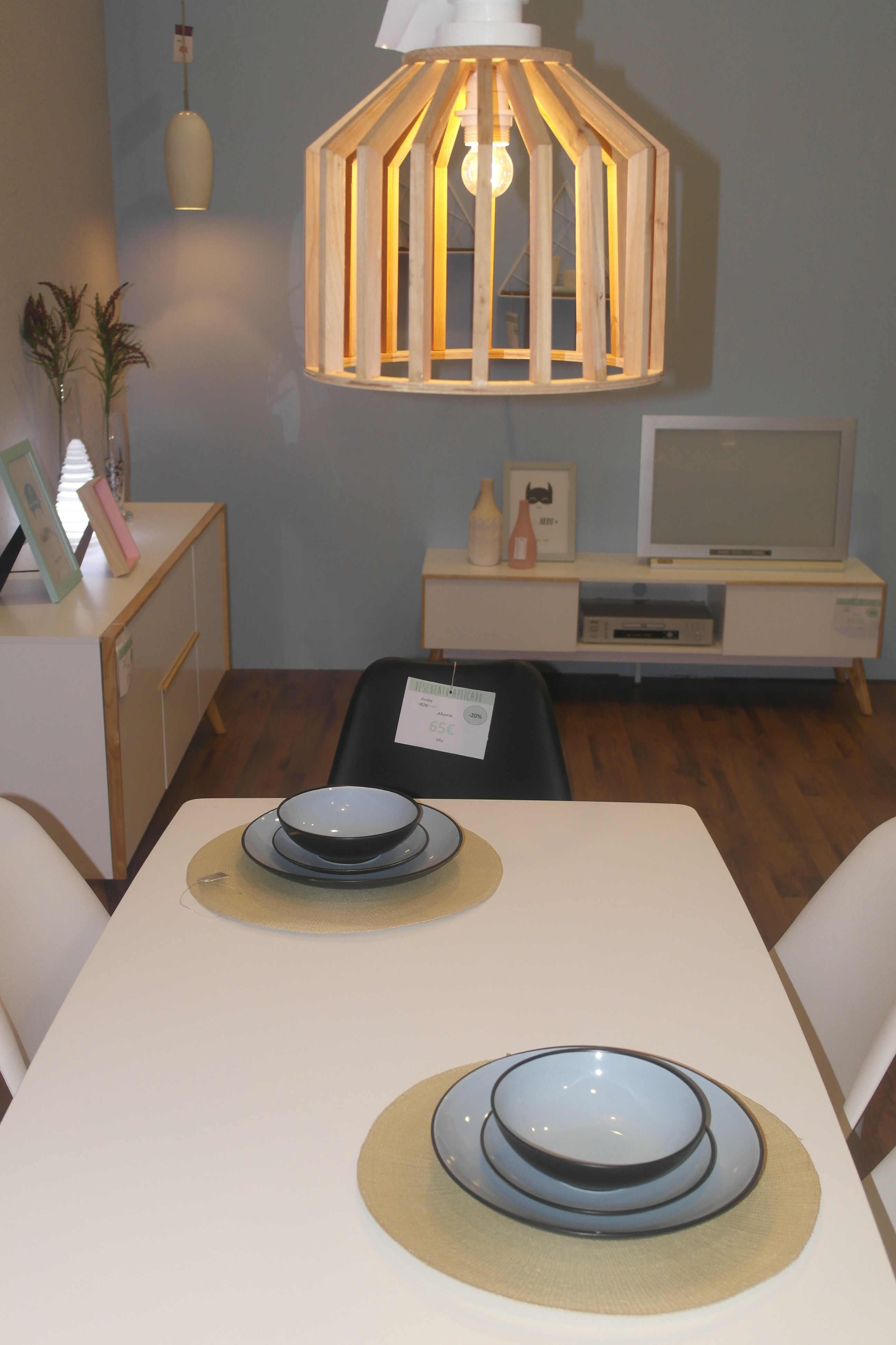 L mpara wood muebles passe avant - Lamparas alfafar ...