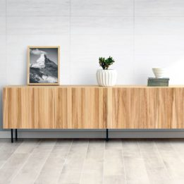 Mueble tv ovre roble